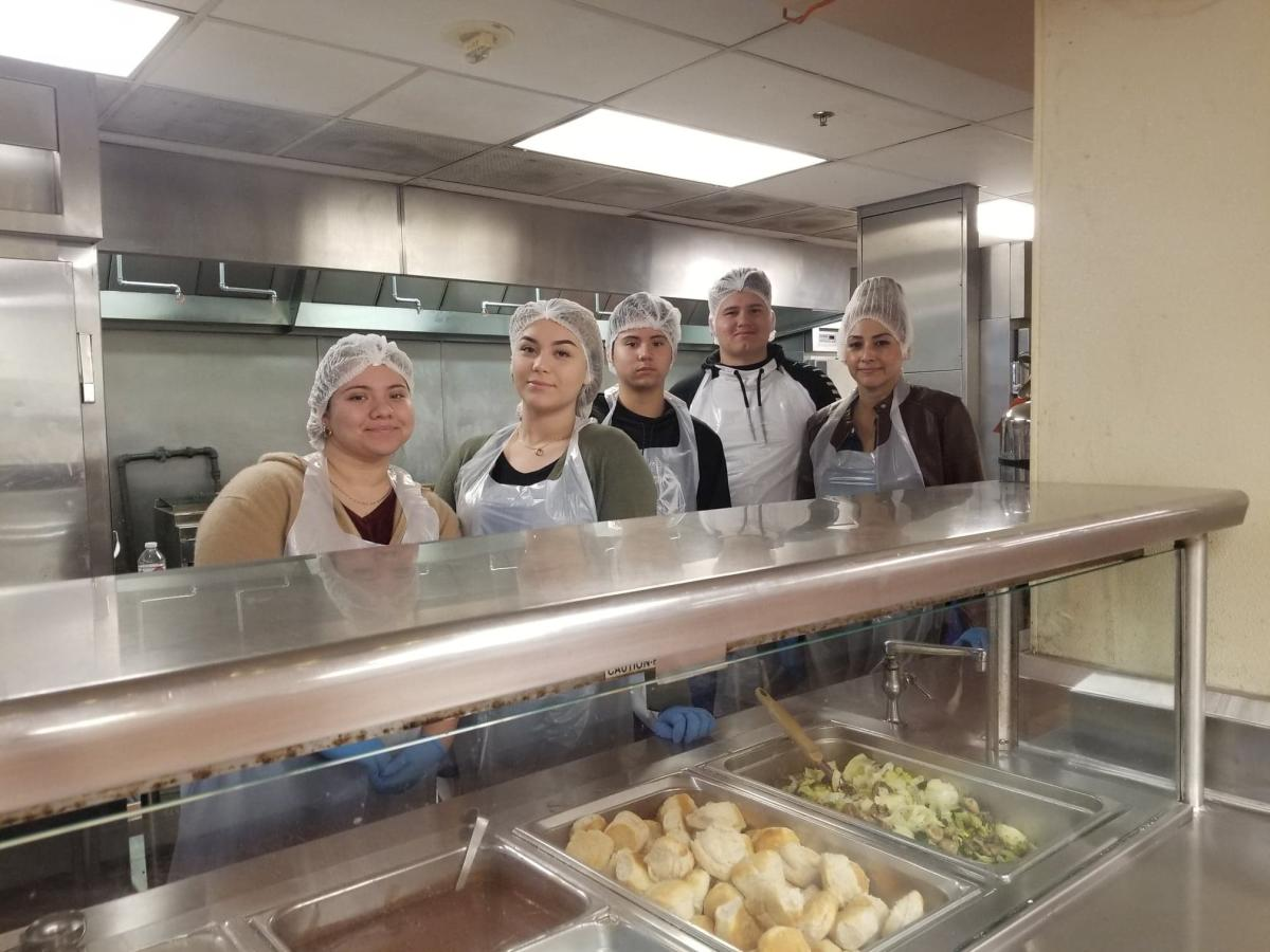 Volunteers at Martha's Kitchen