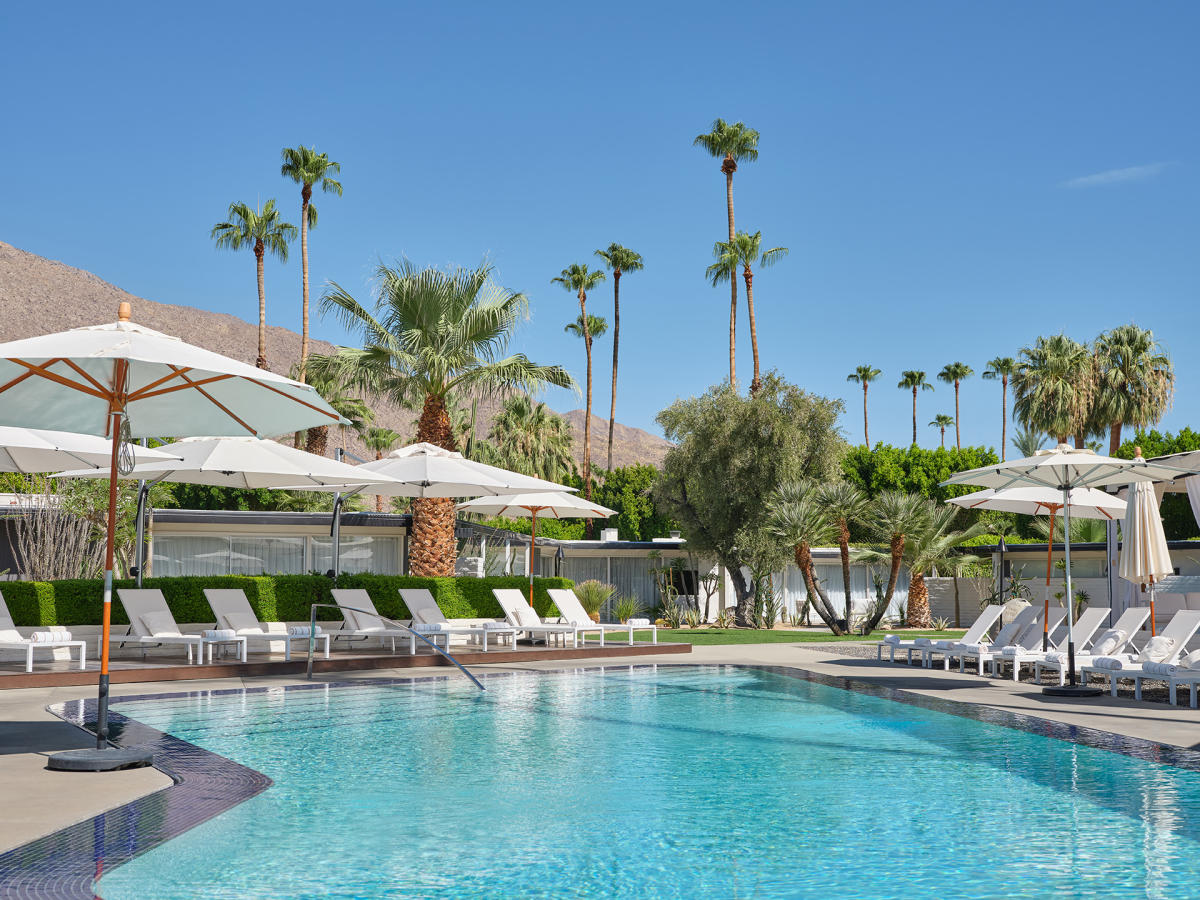 The pool at L'Horizon Resort and Spa in Palm Springs