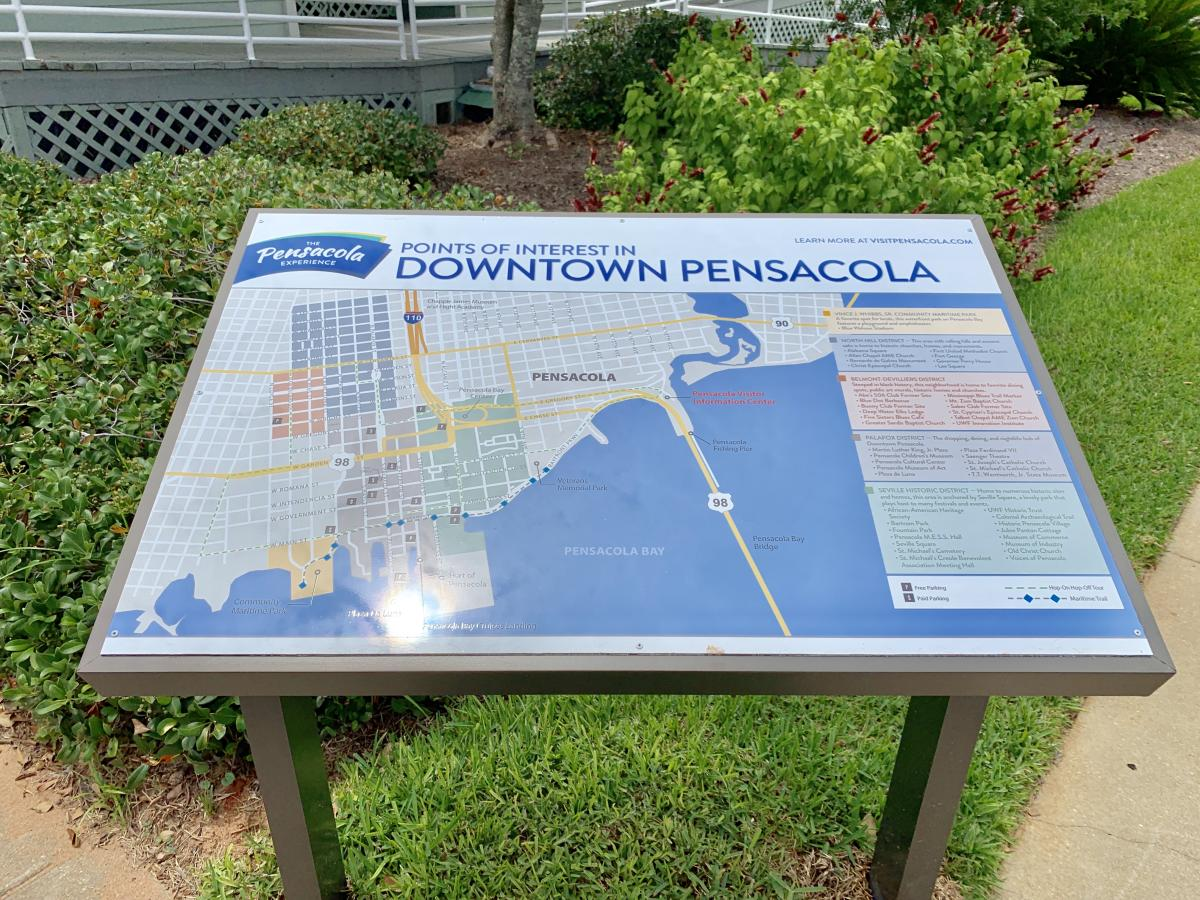 Outdoor Maps of Pensacola