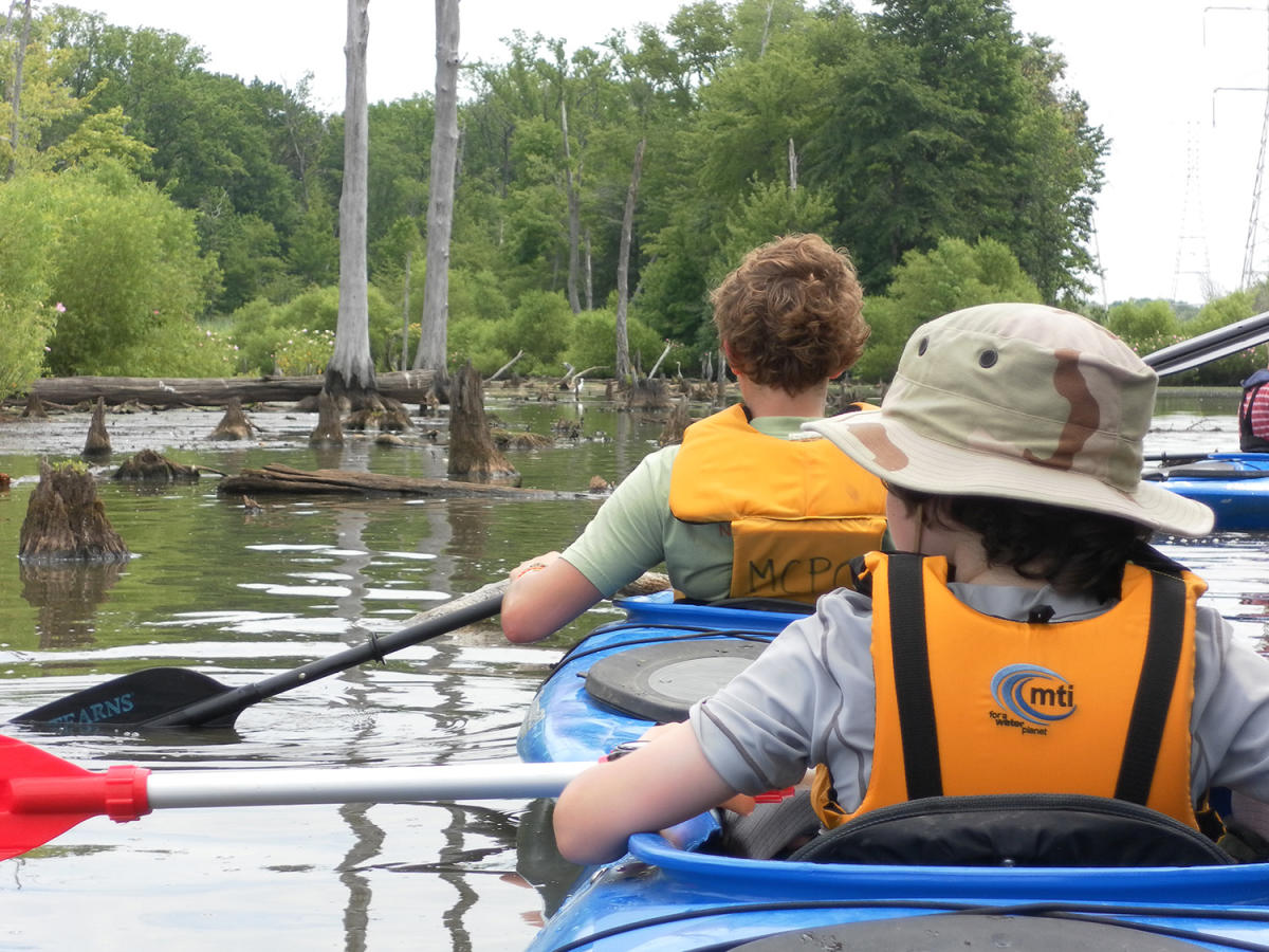 Baldpate Mountain kayaking