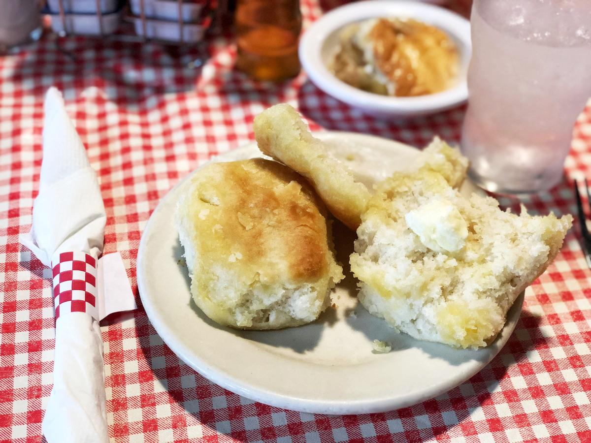 Big Ed's City Market Restaurant Biscuit