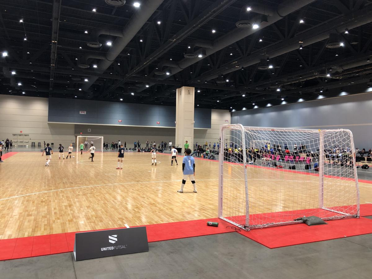 2020 United Futsal at Raleigh Convention Center