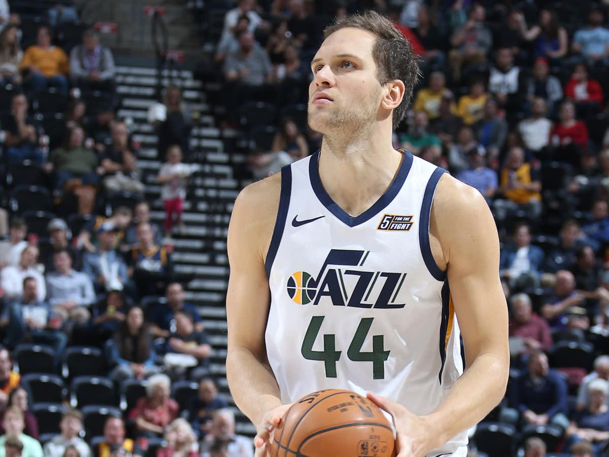 Bojan Bogdanović of the Utah Jazz