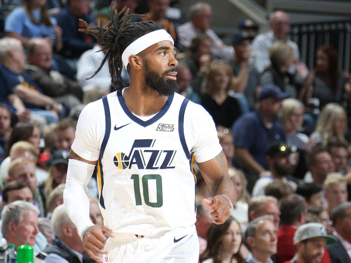 Mike Conley of the Utah Jazz