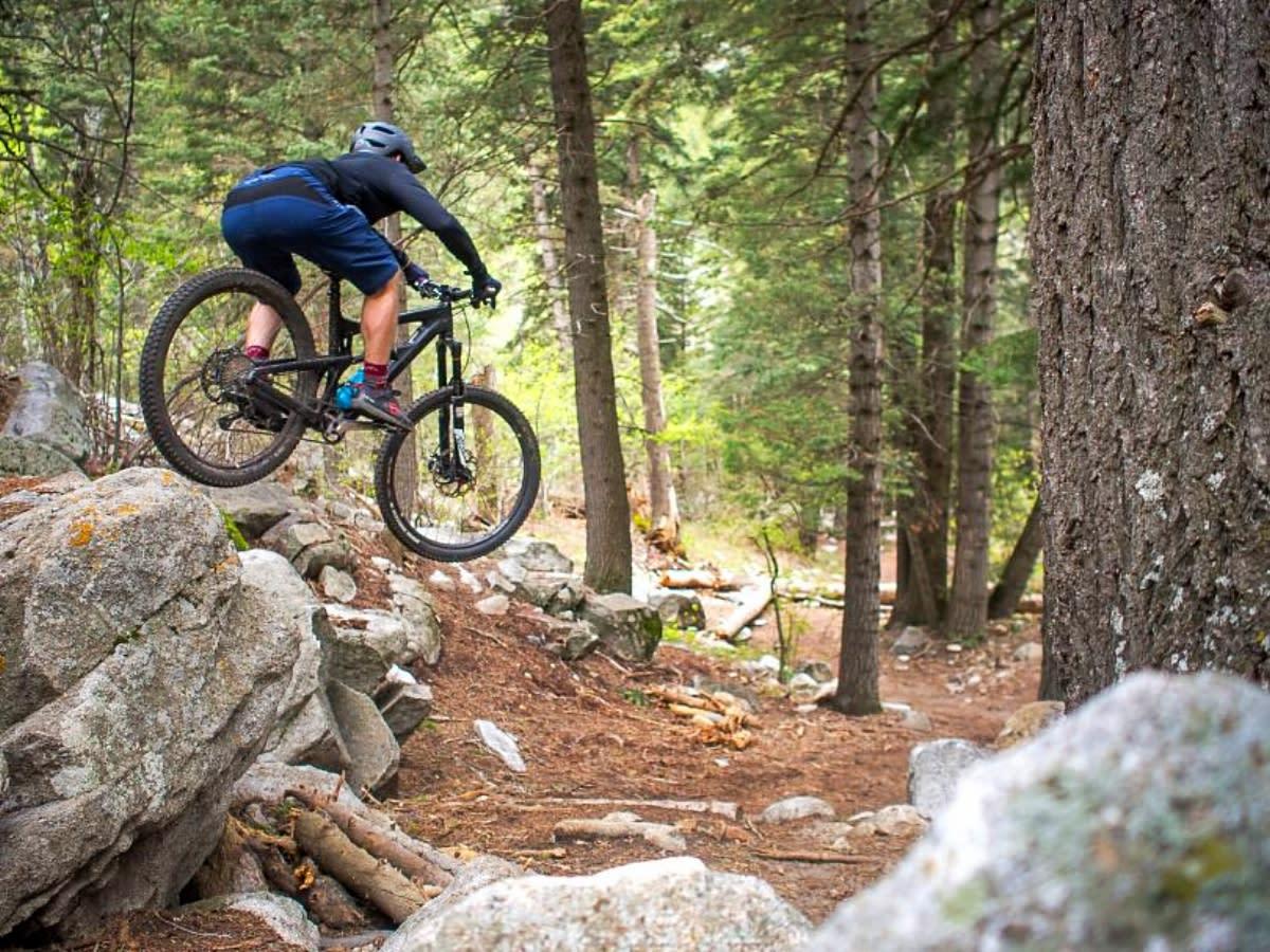 Quarry Trail Mountain Biking
