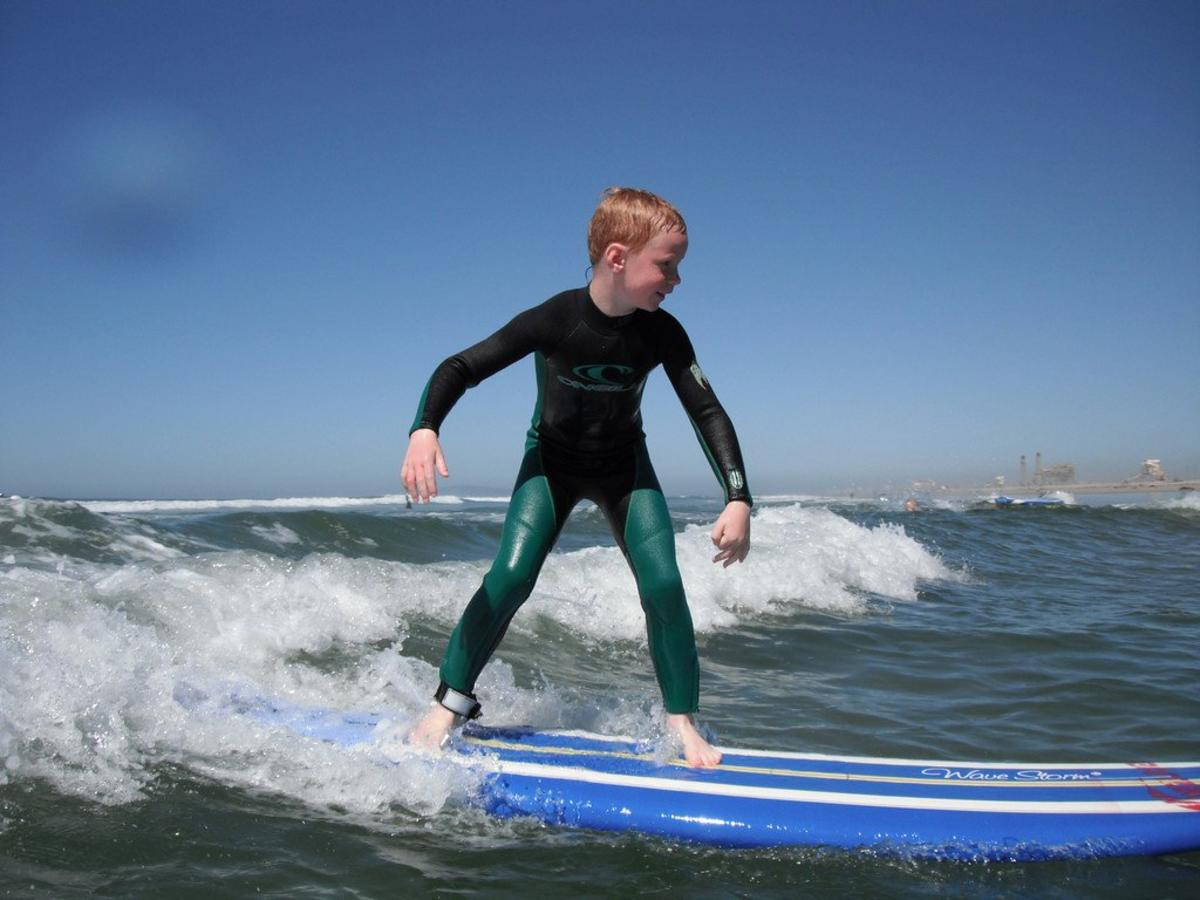 surf City VIP Surf Lessons