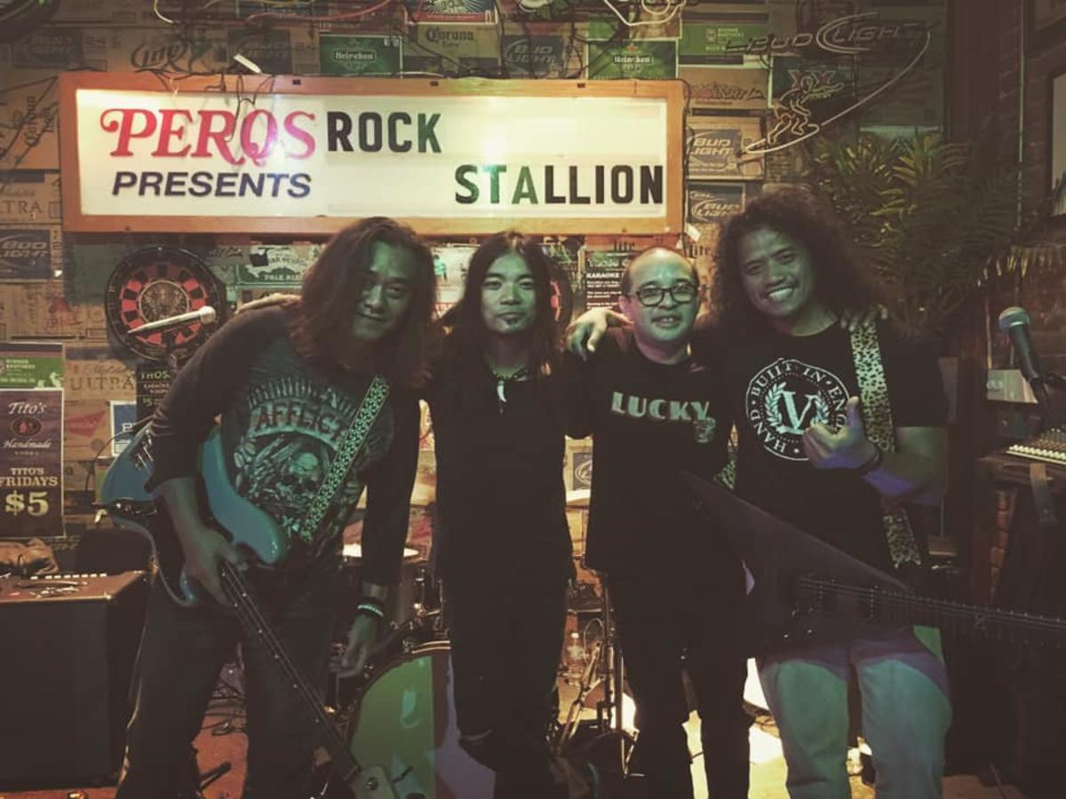 Rock Stallion in Huntington Beach