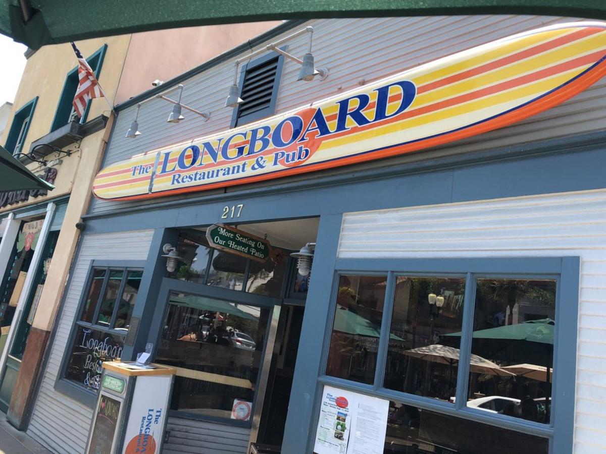Longboard Restaurant and Pub in Huntington Beach