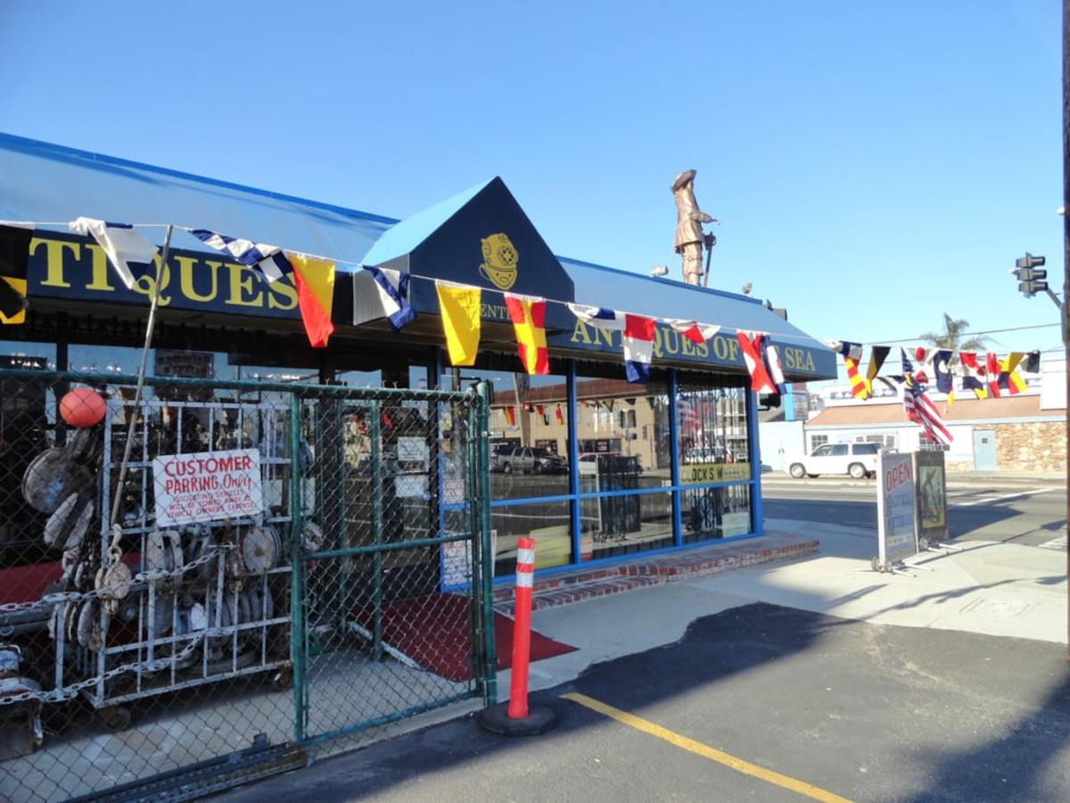 Antiques of the Sea in Sunset Beach