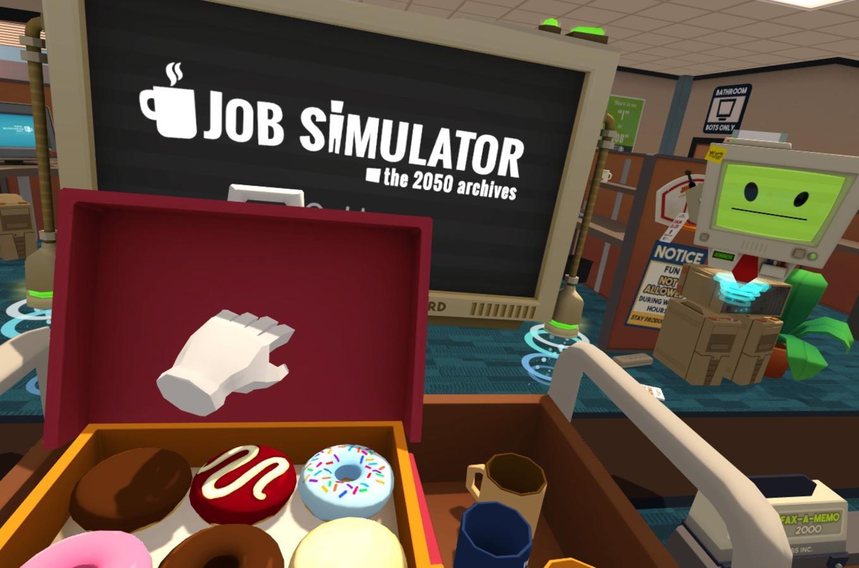 Job Simulator Kelowna VR 1