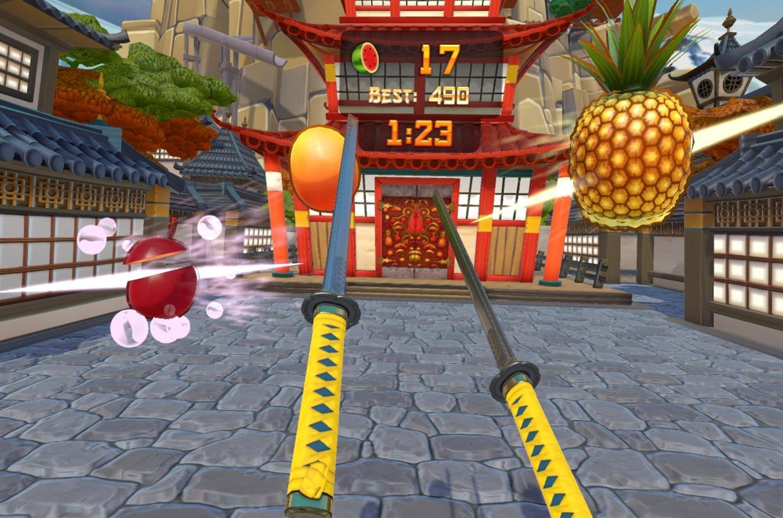 Fruit Ninja Kelowna VR 1