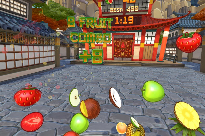 Fruit Ninja Kelowna VR 2