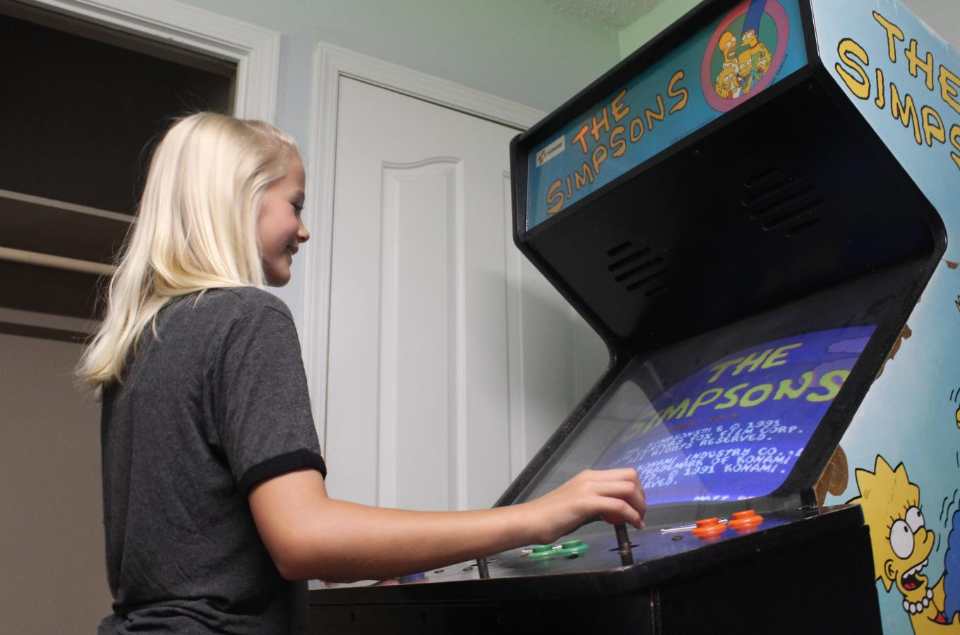 Arcade in Clubhouse