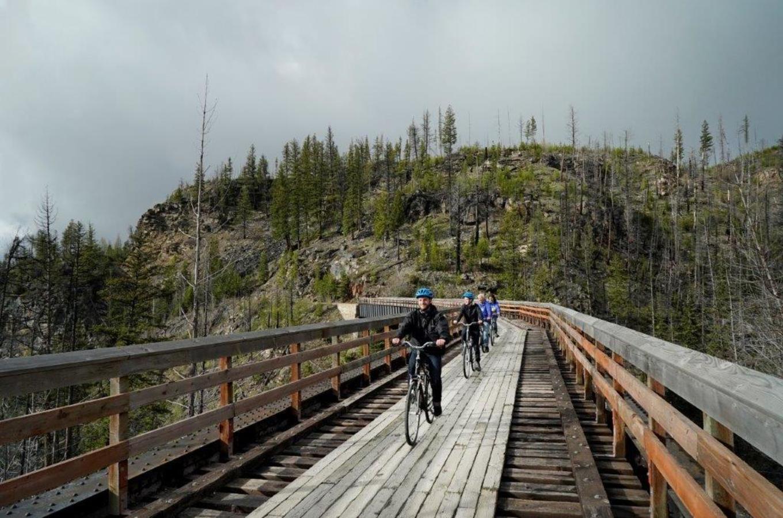Myra Canyon Bicycle Rental & Tours Image 2