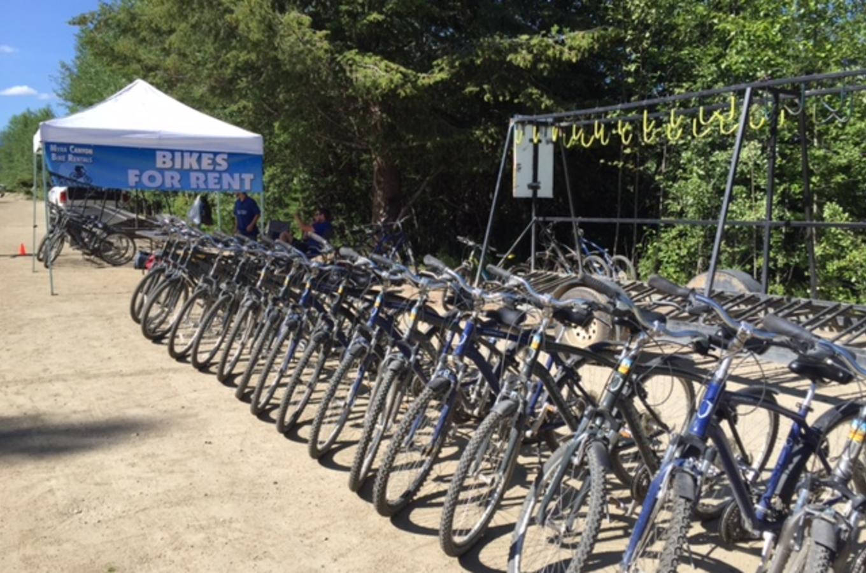Myra Canyon Bicycle Rental
