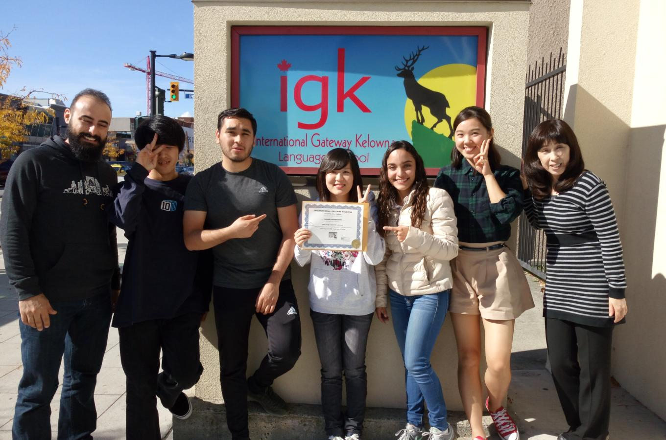 Graduation day at IGK