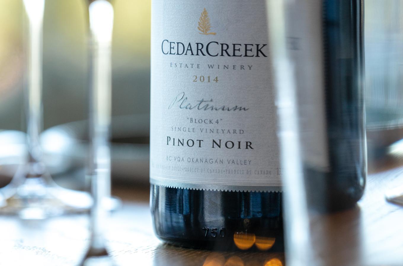 CedarCreek Platinum Block 4 Pinot Noir