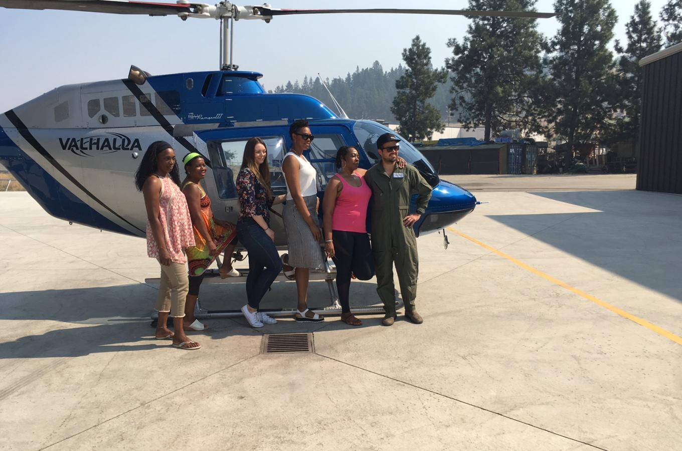 Helicopter and Wine tour