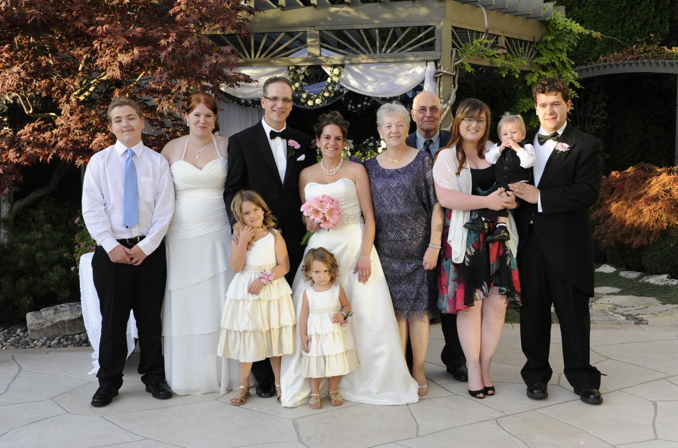 Intimate Family Wedding Ceremonies