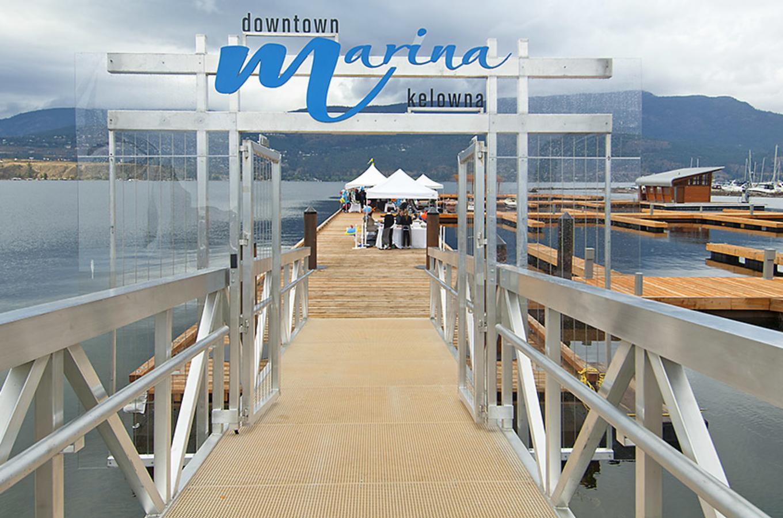 Downtown Kelowna Marina