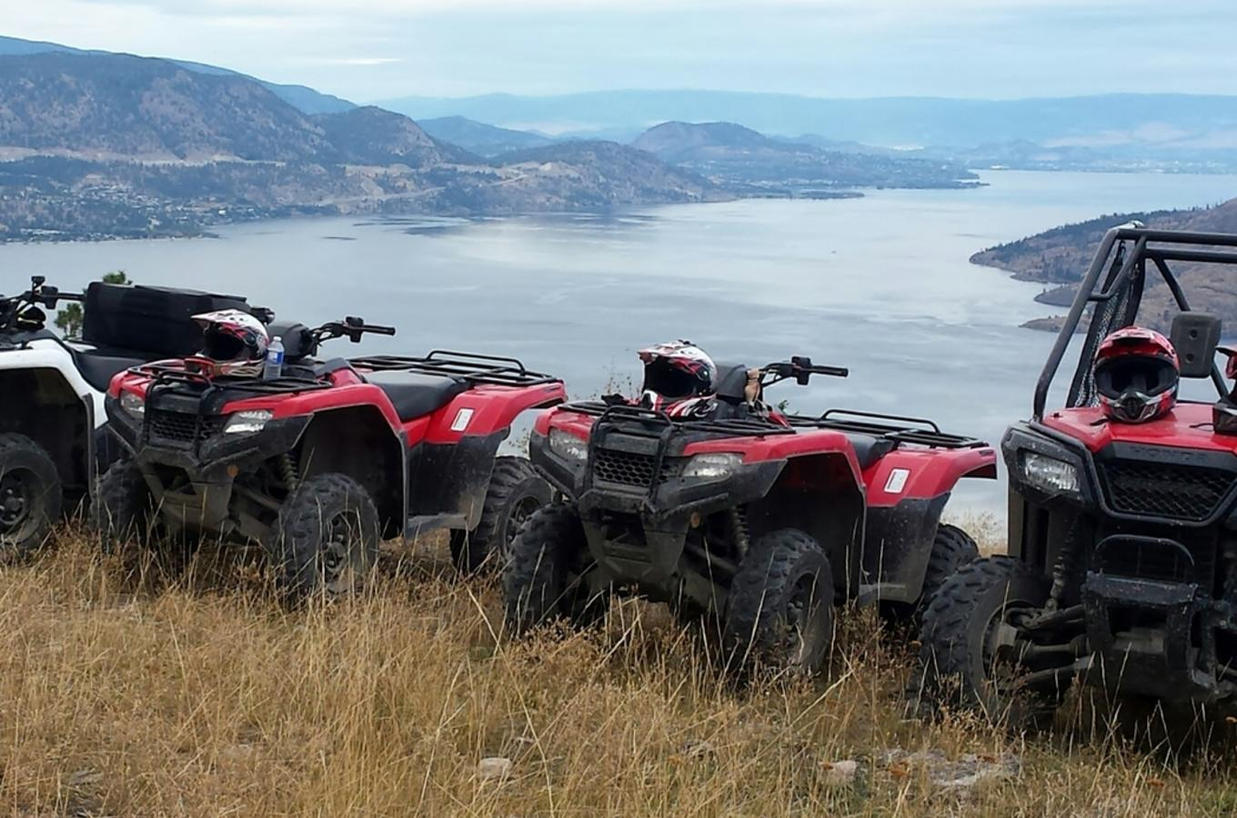 Okanagan ATV Tours Lake View