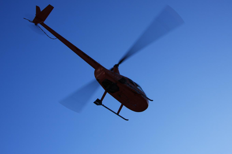R44 Flyover