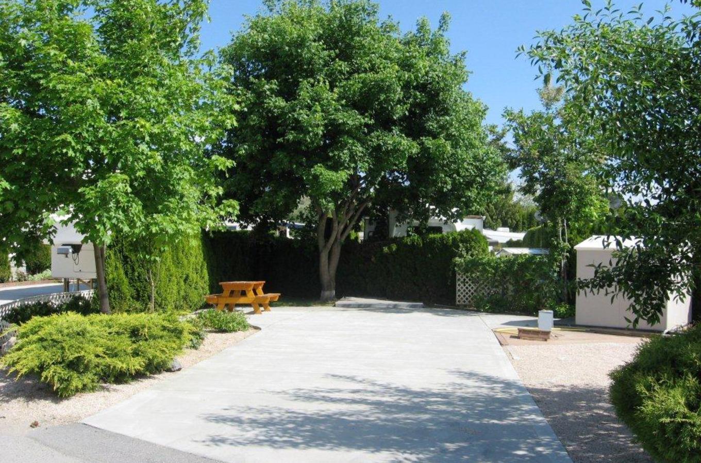 Holiday Park Resort rental RV site