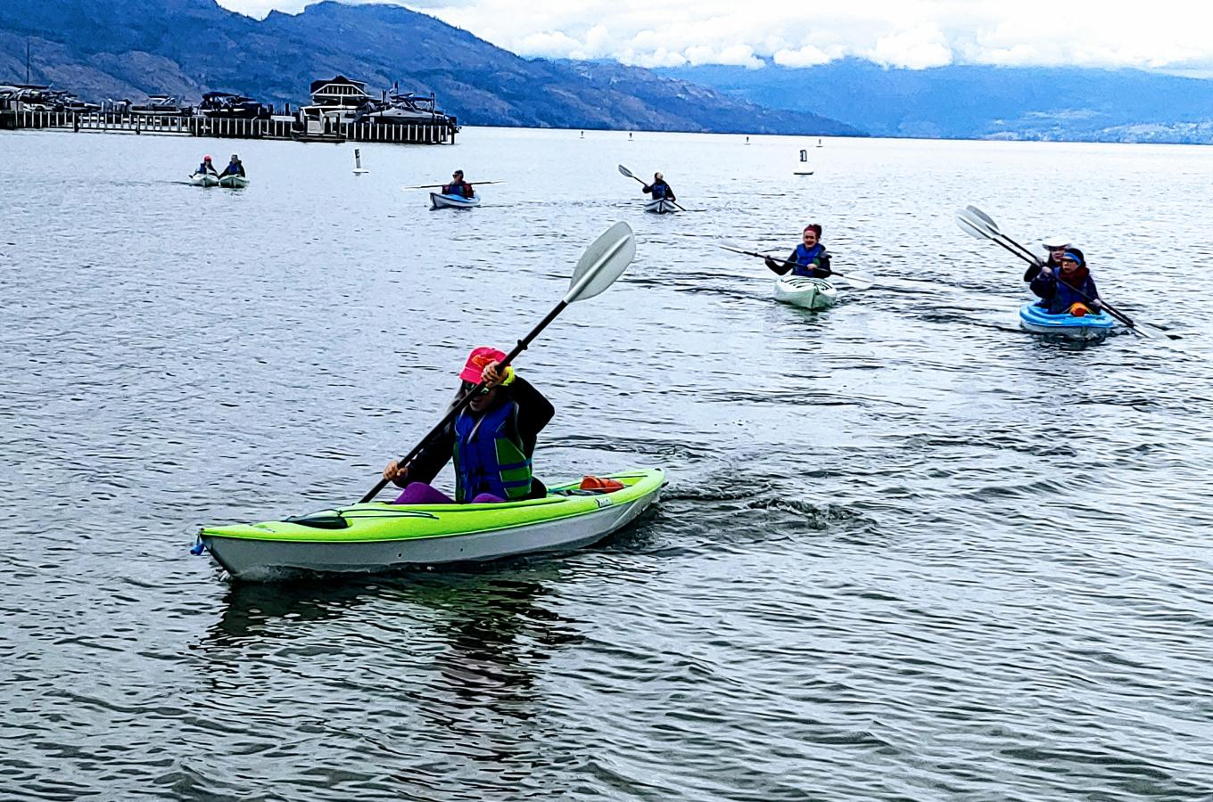 Rotary Kayakers  1