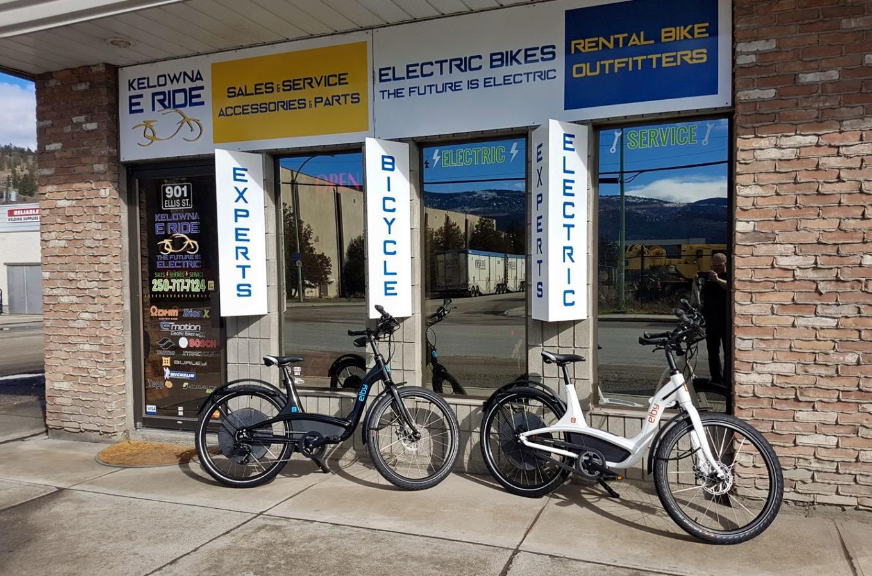 Kelowna E Ride Storefront