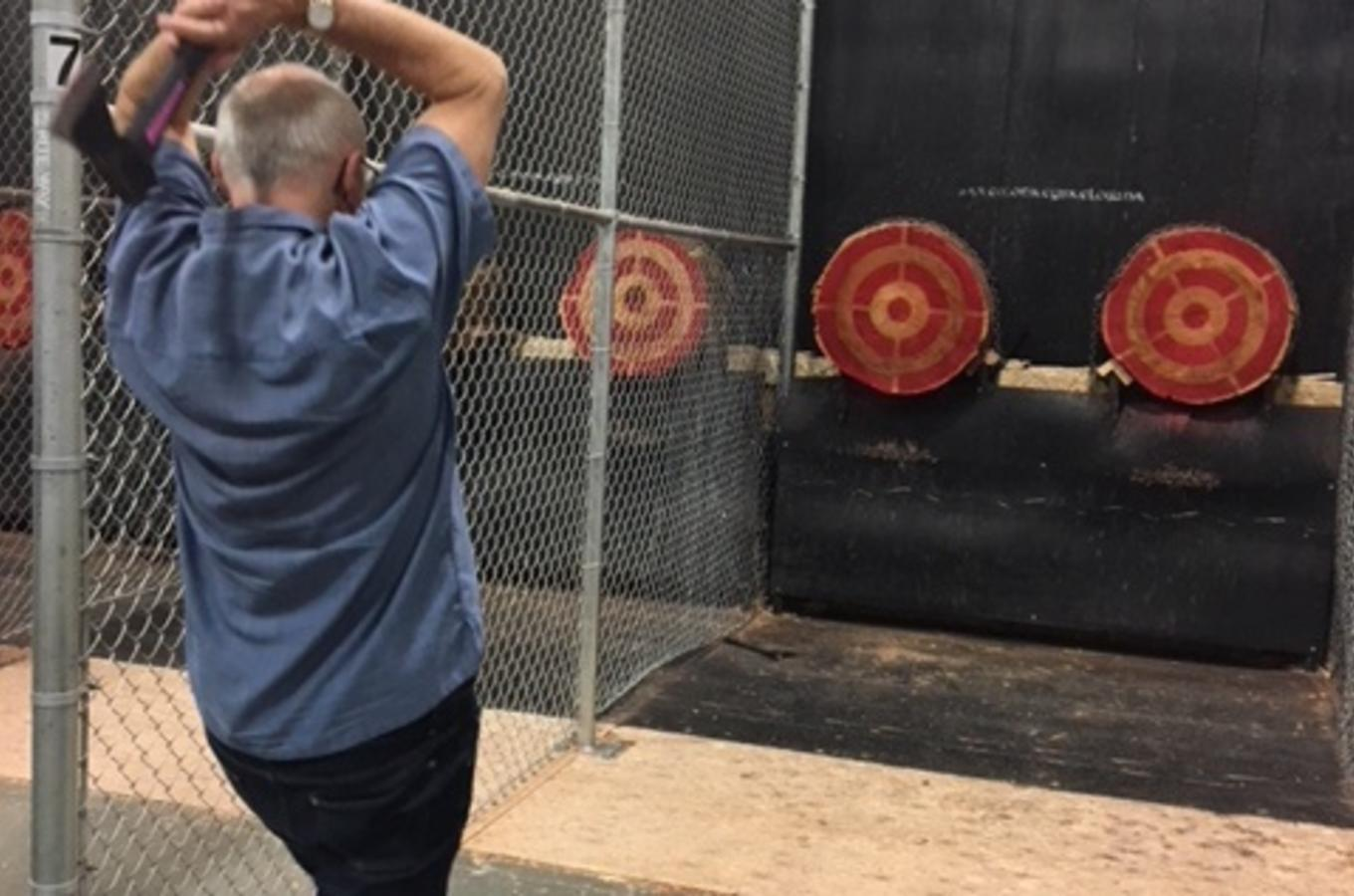 Axe Throwing and Wine Tour