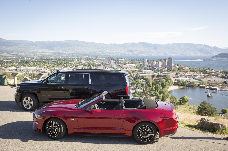 Budget Mustang & Suburban
