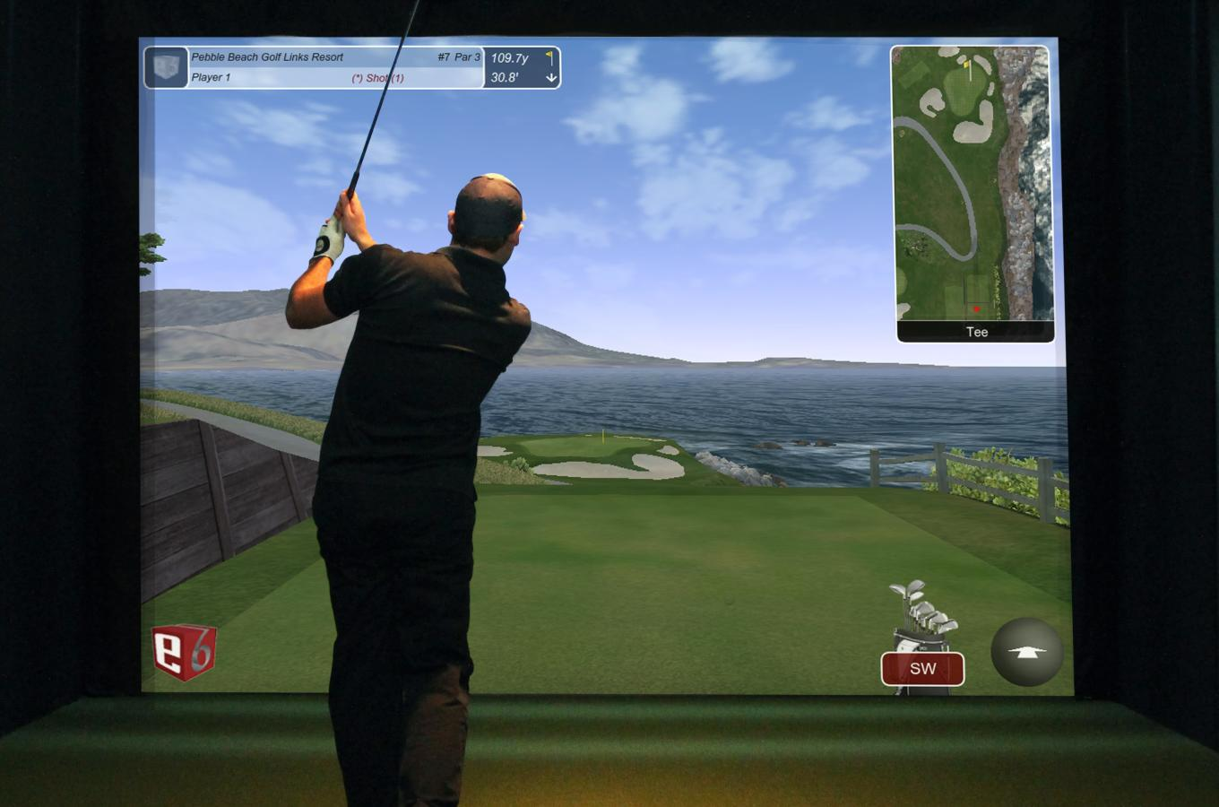 Golf Simulator 1