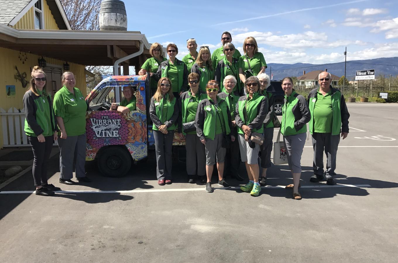 Volunteers at Vibrant Vine