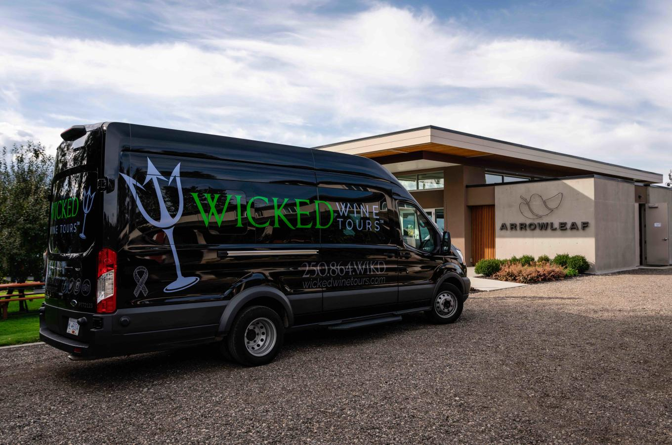 Wicked Wine Tours | Arrowleaf Cellars | Lake Country, BC