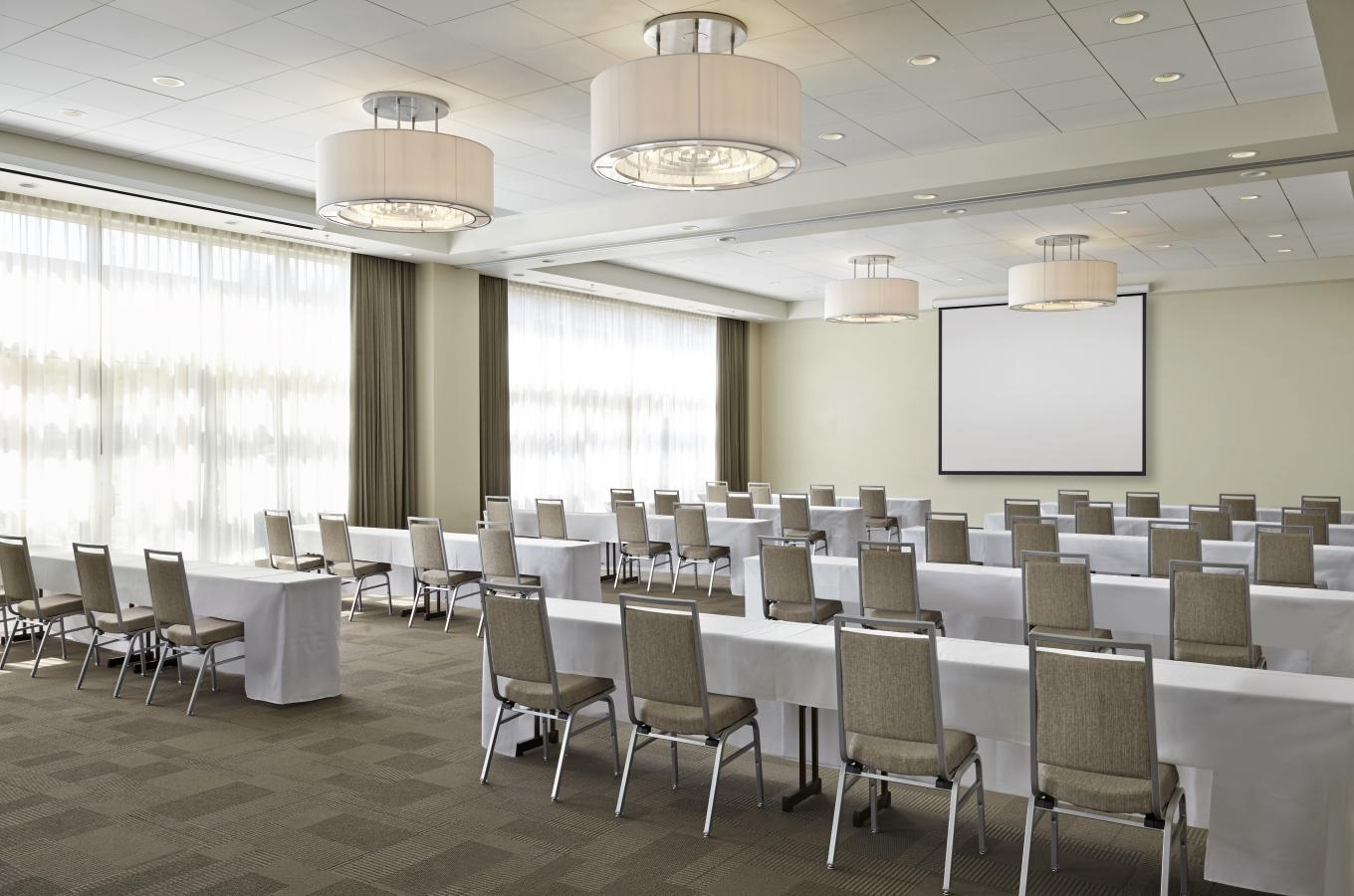 Meritage Ballroom Classroom Set Up