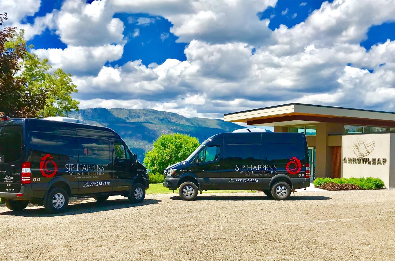 Luxury Mercedes Wine Tour Vans