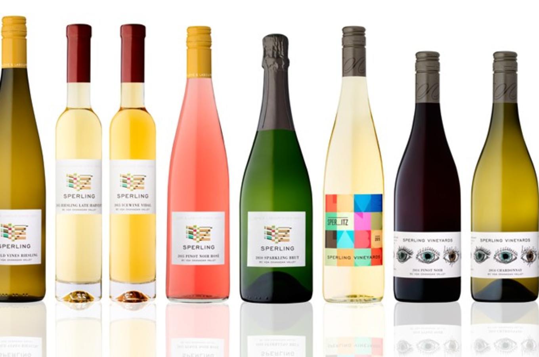 Sperling Wine Lineup