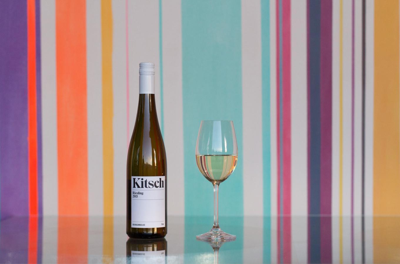 Kitsch Wine glass