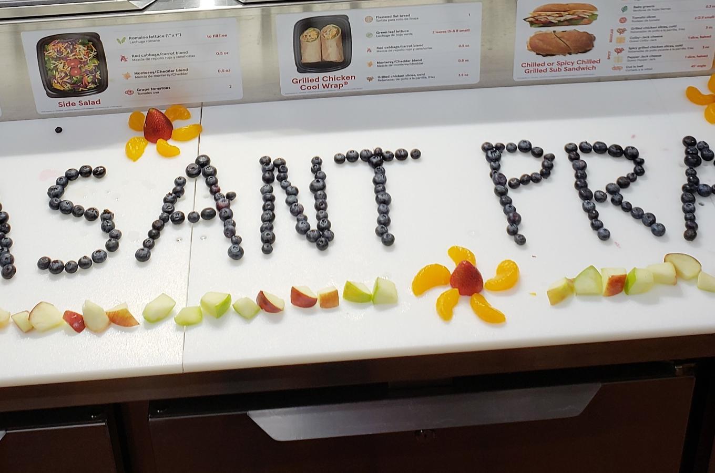 Pleasant Prairie in fruit