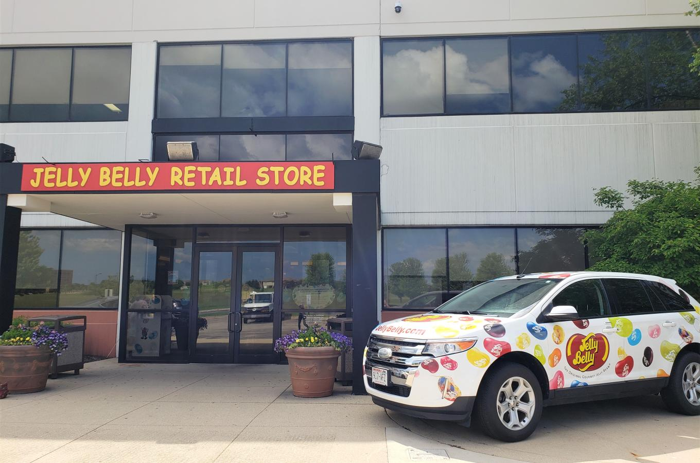 Jelly Belly Bean Car