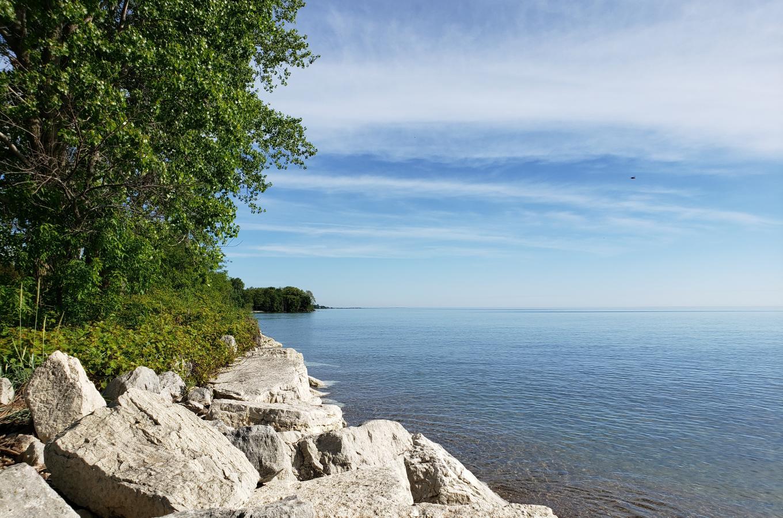 2019-06-6 Lake Michigan Beach Shoreline Horizontal North_085241