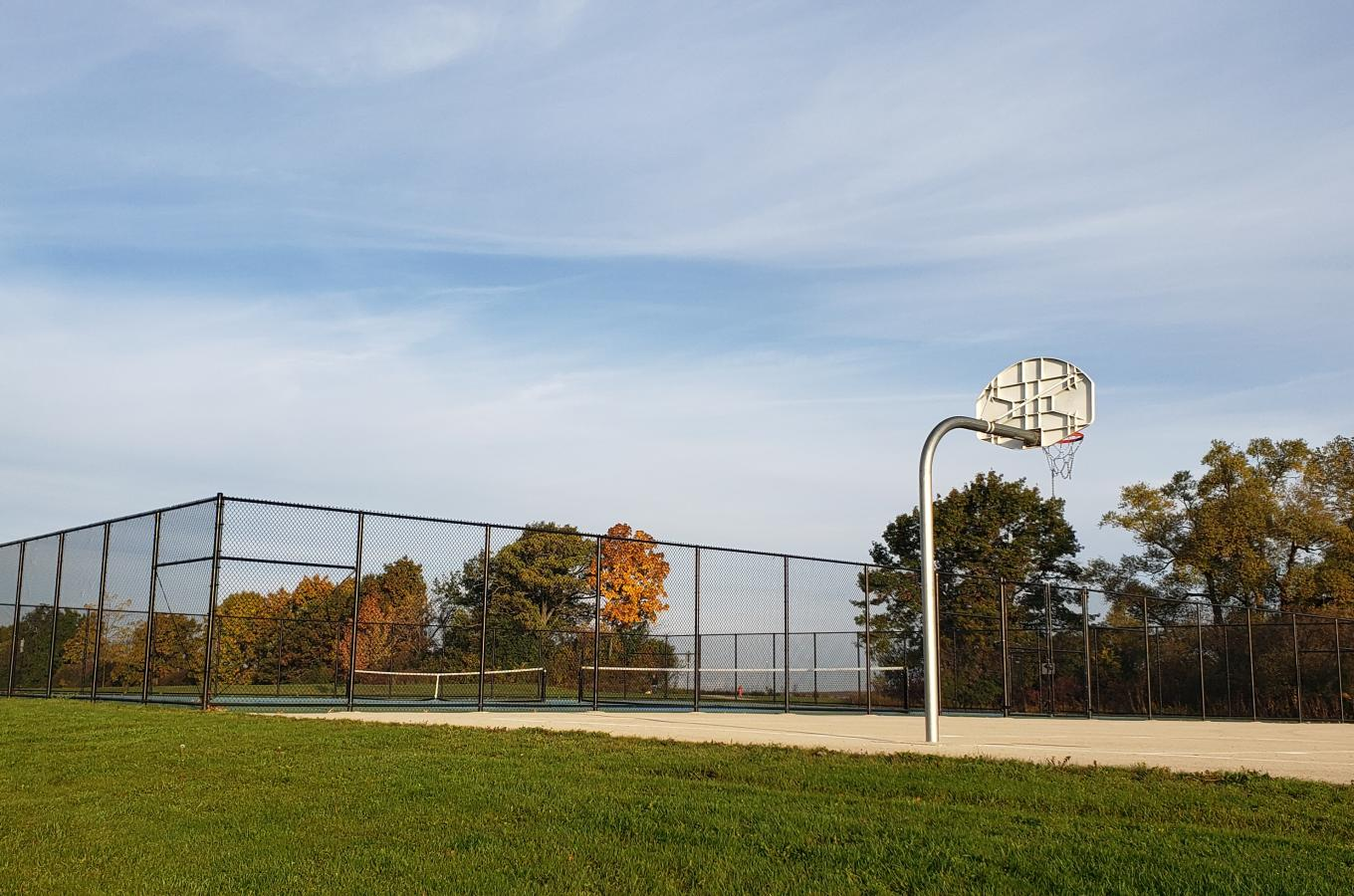 Village Green Park Basketball Court 1
