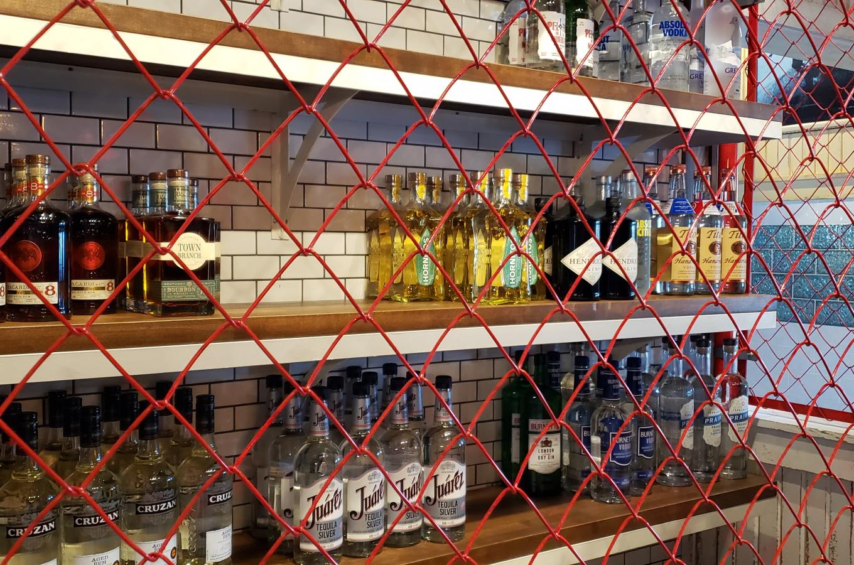 El Camino Kitchen Liquor Storage