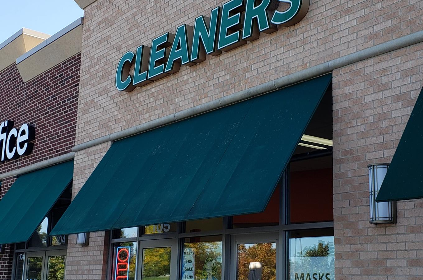 Press Time Cleaners Storefront