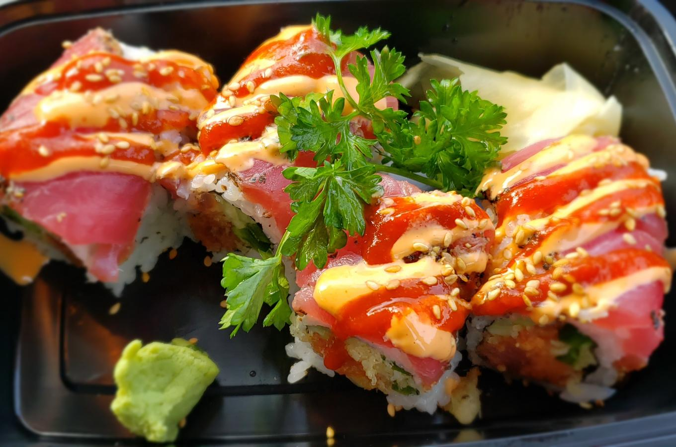 2021 Honada Sushi Roll with Sesame Seeds