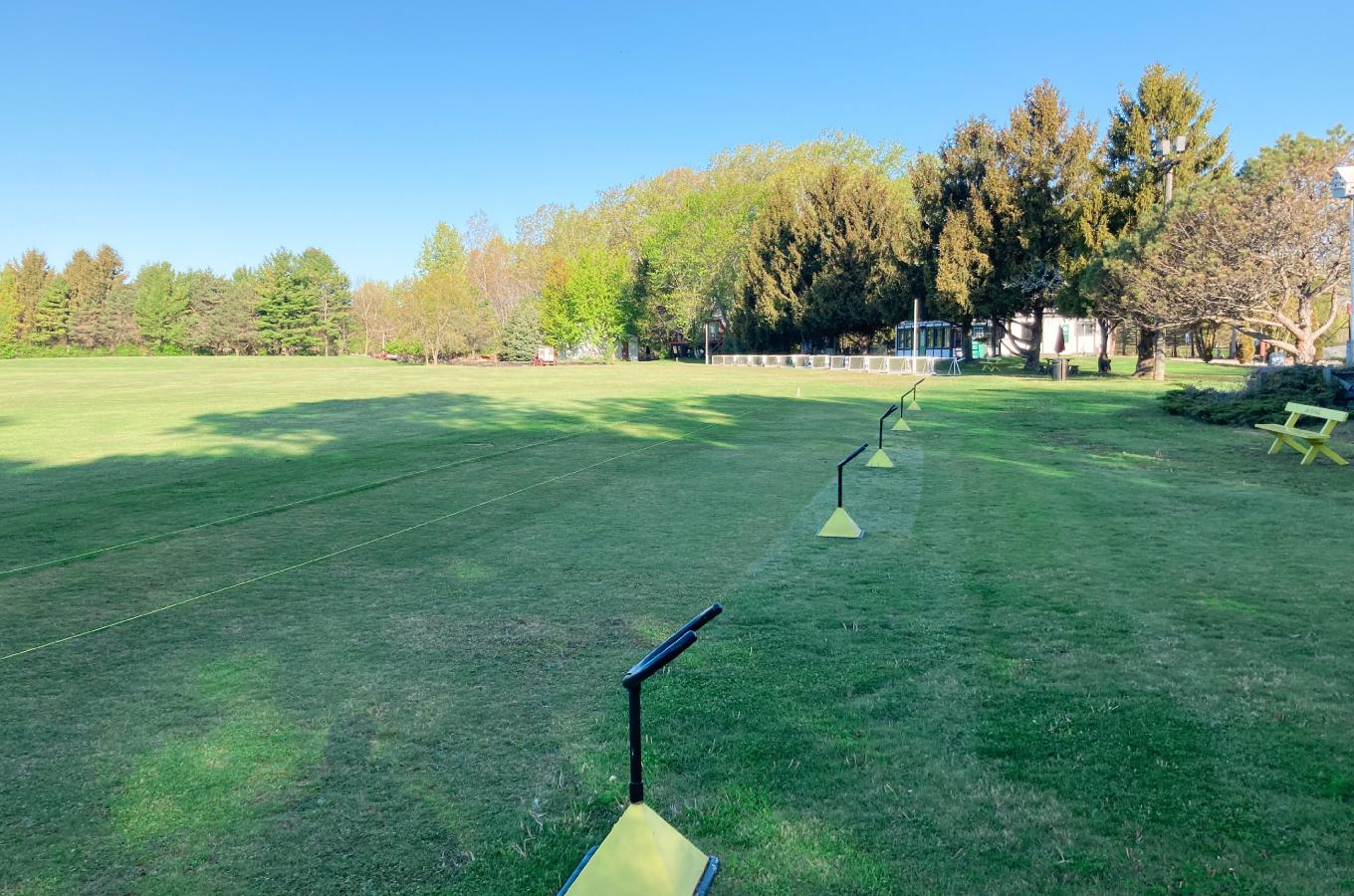 2021 Pineway Golf Co Driving Range with Bag Holders