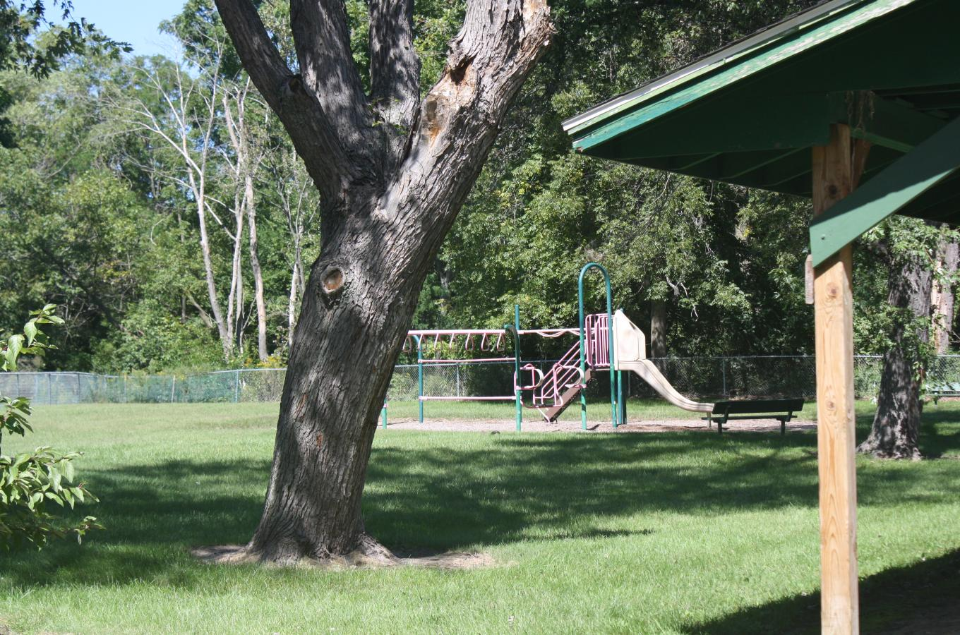 Carol Beach Park Playground Equipment V Pic
