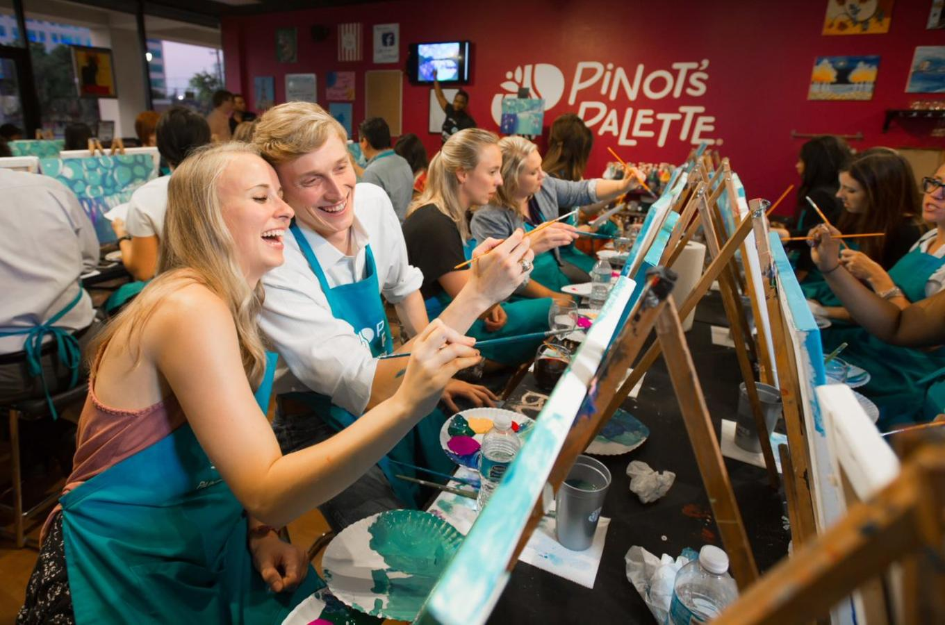 Pinot's Palette Smiling Painters
