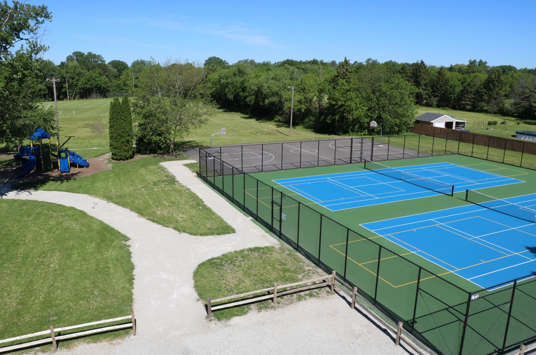 Pleasant Prairie Park Tennis Courts V Pic
