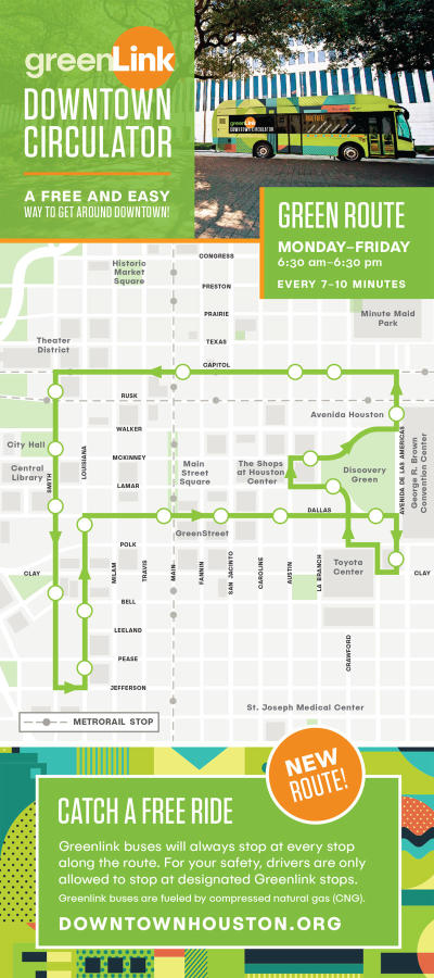 Greenlink Downtown Circulator - Green Route